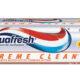 خمیر دندان سری extreme clean مدل whitening آکوافرش حجم 100ml
