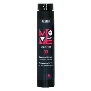 سرم و ژل حالت دهنده مو Moveme Smoothy 32 سیستم دیکسون 250ml