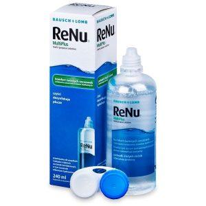 محلول لنز بدون جذب پروتئين مولتی پلاس رنیو 240ml