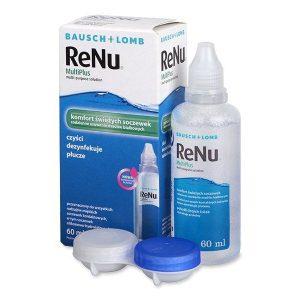 محلول لنز بدون جذب پروتئين مولتی پلاس رنیو بوش اند لومب 60ml