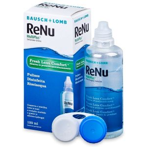 محلول لنز بدون جذب پروتئين مولتی پلاس رنیو 120ml