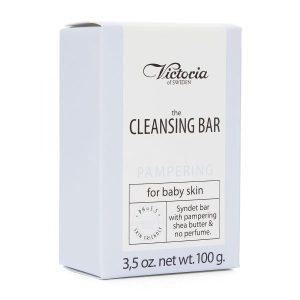 پن مخصوص پوست های حساس و کودکانCleansing Bar ویکتوریا 100ml