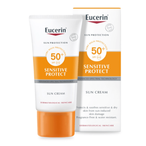 کرم ضد آفتاب پوست حساس و خشک اوسرین SPF50+