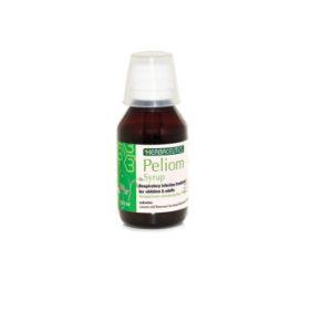 شربت بهبود سرماخوردگی با طعم توت فرنگی پلیوم بهشاد دارو 120ml