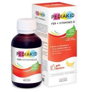 شربت تقویت متابولیسم انرژی، تقویت بنیه و کاهش خستگی پدیاکید آهن و ویتامین B اینلدآ 125ml