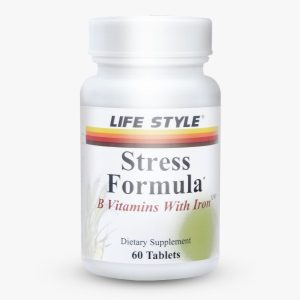 قرص آهن و ویتامین B استرس فرمولا لایف استایل 60 عددی