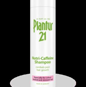 شامپو تقویت کننده و پیشگیری از ریزش مو نوتري کافئين پلنتور21 250ml