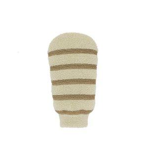 لیف ماساژ دستکشی با پنبه طبیعی ریفی شماره 406