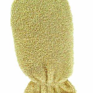 لیف ماساژ دستکشی صورت با پنبه طبیعی ریفی شماره 414