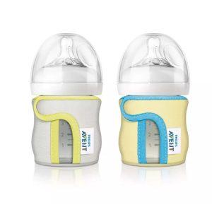 محافظ پارچه ای شیشه شیر scf675/01 فیلیپس اونت 120ml