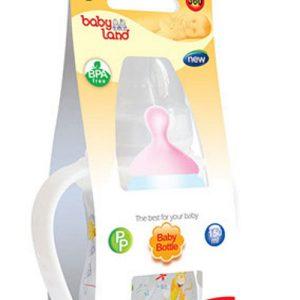 شیشه شیر ضد نفخ 360 بیبی لند 150ml