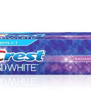 خمیر دندان سفید کننده 3D White 3x1 کرست 75ml
