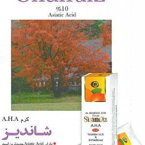 کرم آلفا هیدروکسی اسید آ اچ آ 10 درصد شاندیز