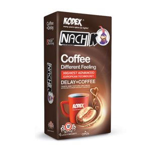 کاندوم تاخیری حلقوی رنگی قهوه ناچ کدکس 12 عددی