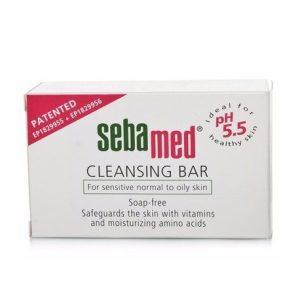 پن غیر صابونی پاک کننده پوست حساس و چرب سبامد 100gr