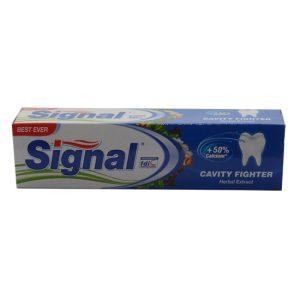 خمیر دندان گیاهی بزرگسالان ضد پوسیدگی %Cavity Fighter 50 کلسیم سیگنال 100ml