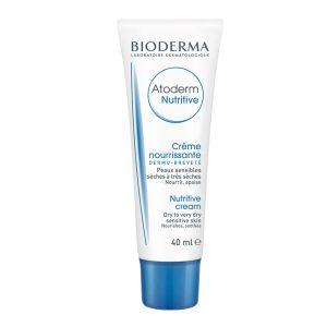 کرم مرطوب کننده پوست خیلی خشک و حساس نوتریتیو اتودرم بایودرما 40ml