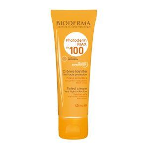 کرم ضد آفتاب رنگ گلدن فتودرم مکس بایودرما SPF100 40ml