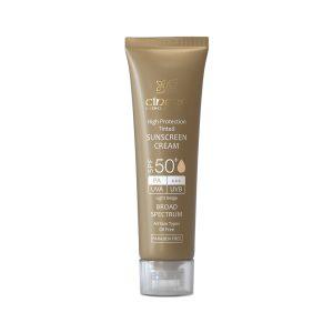 کرم ضد آفتاب فاقد چربی بژ روشن سینره SPF50+