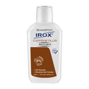 شامپو کافئین پلاس محرک رشد مو ایروکس 200gr