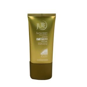کرم پودر حاوی ضد آفتاب رنگ بژ طبیعی پوست چرب ژوت SPF30