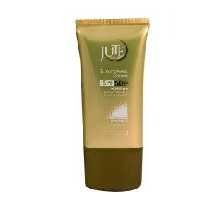 کرم ضد آفتاب فاقد چربی بی رنگ ژوت SPF50+