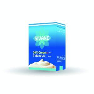 صابون کرم دار 30% حاوی کالاندولا سیوند 90gr
