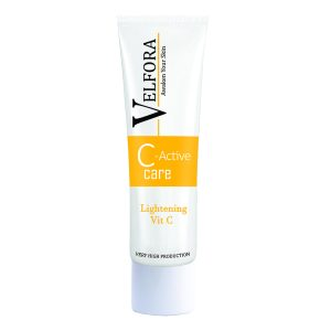 کرم ضد لک و روشن کننده قوی ویتامین C ولفرا 30gr