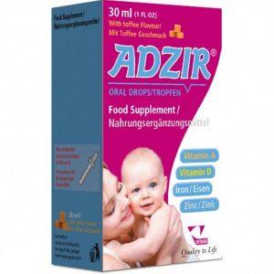 قطره مولتی ویتامین کودکان آدزیر ویتان 30ml