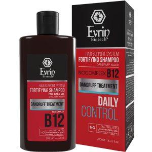شامپو تقویت کننده و ضد شوره روزانه B12 اورین 200ml