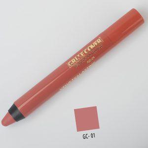 رژ لب مدادی شماره GC.01 گریم کاور 5gr