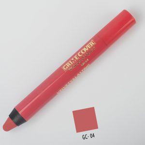 رژ لب مدادی شماره GC.04 گریم کاور 5gr