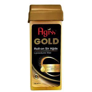 موم موبر رولی طلایی مناسب همه بدن آگیس 100ml