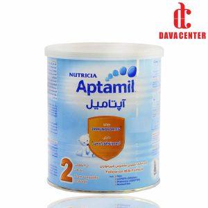 شير خشک از شش ماهگی آپتاميل 2 نوتریشیا 400gr