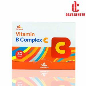 قرص ب کمپلکس و ویتامین C ویتامین لایف 30 عددی