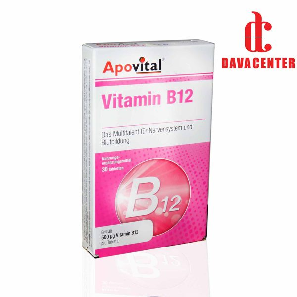 قرص ویتامین B12 آپوويتال 30 عدد