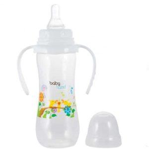 بطری شیر ضد نفخ کد 358 بی بی لند 240ml