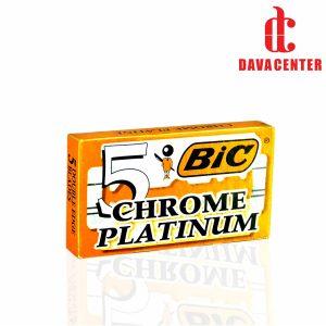 تیغ یدک سنتی کروم پلاتينيوم بیک 5 عدد