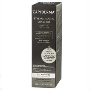 شامپو تقویت کننده و ضد ریزش مو Strengthening Capigen کپیدرما 200ml