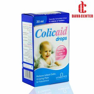 قطره خوراکی ضد نفخ نوزادان و کودکان کولیک اید ویتابیوتکس 30ml