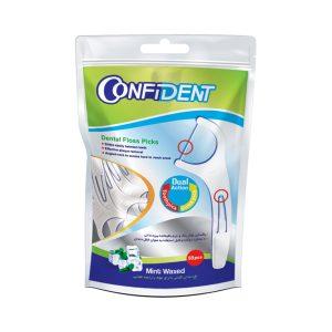 نخ دندان کمانی دارای موم کانفيدنت 50 عددی