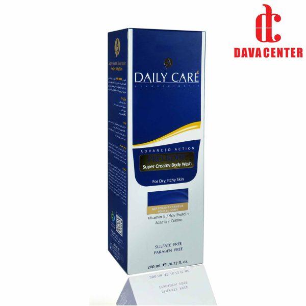 جعبه شامپو بدن مناسب پوست های خشک دیلی کر 200ml