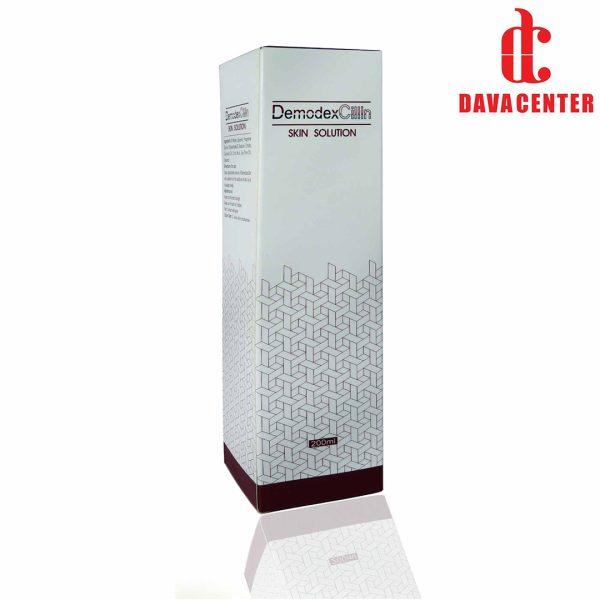 پشت محلول تقویت کننده و پاک کننده پوست دمودکس 200ml
