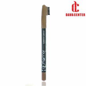 مداد ابرو قهوه ای فلورمار شماره 401
