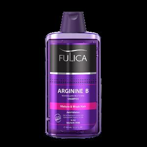 شامپو تقویت و احیا و براق کننده موهای ضعیف حاوی آرژنین بی فولیکا 400ml