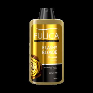 شامپو تثبیت کننده و محافظ موهای بلوند فاقد سولفات فولیکا 400ml