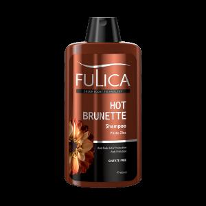 شامپو محافظ و تثبیت کننده موهای قهوه ای فاقد سولفات فولیکا 400ml