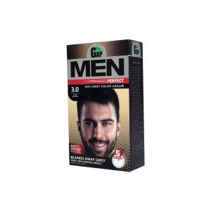 کیت رنگ مو شماره 3.0 مردانه گپ 50ml