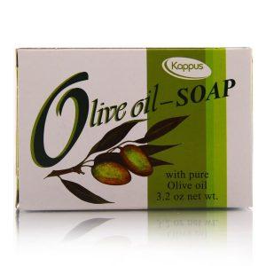 صابون مرطوب کننده پوست خشک روغن زیتون کاپوس 100gr