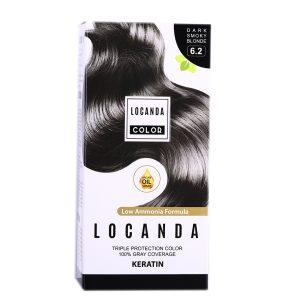 کيت رنگ مو شماره 6.2 لوکاندا 50ml